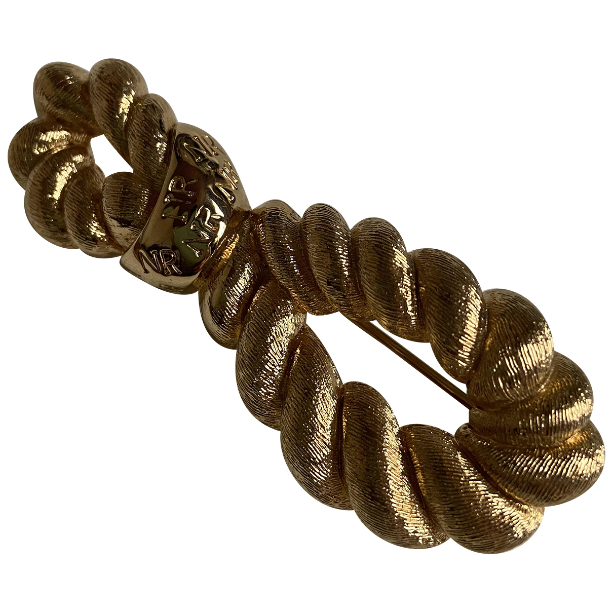 Nina Ricci N Gold Metal Pins & brooches for Women N