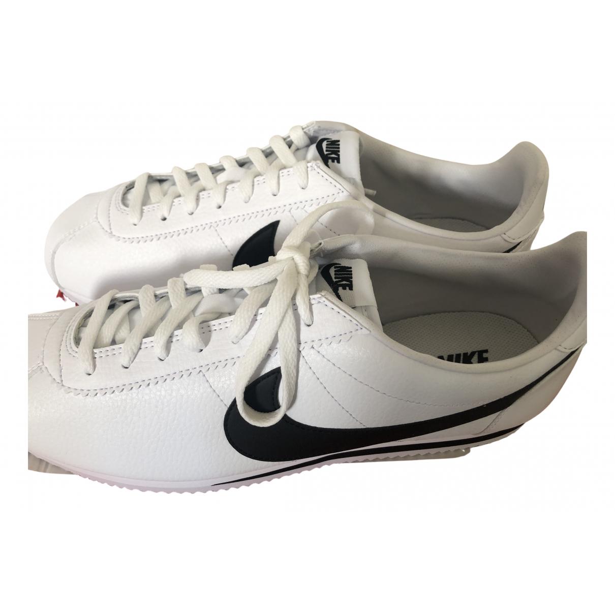 Deportivas Cortez de Cuero Nike