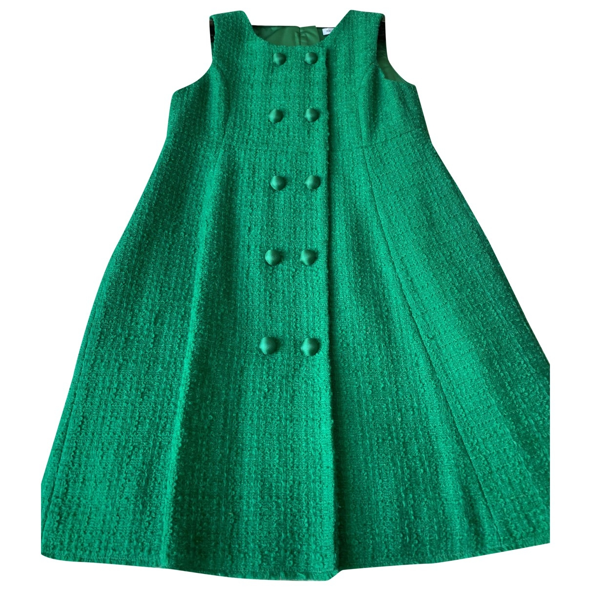 Dolce & Gabbana \N Green Wool dress for Kids 8 years - up to 128cm FR