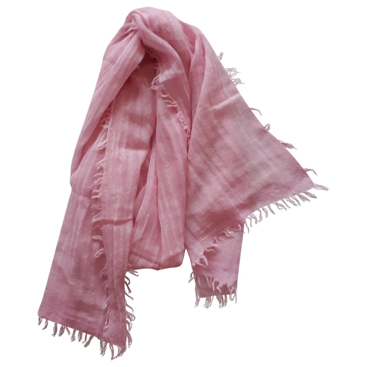 Filippa K \N Pink Wool scarf for Women \N