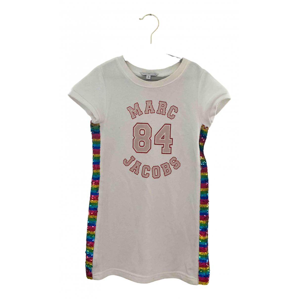 Little Marc Jacobs - Robe    pour enfant en coton - blanc