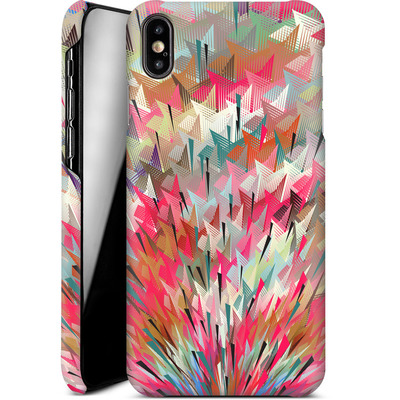 Apple iPhone XS Max Smartphone Huelle - Black Pigment Explosion von Danny Ivan