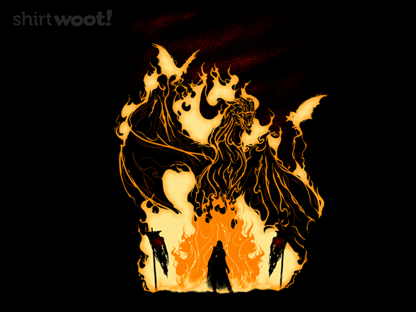 Fire And Blood T Shirt