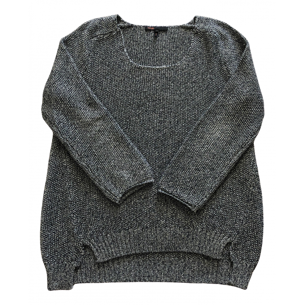 Maje \N Silver Knitwear for Women 38 FR