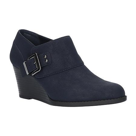 Easy Street Womens Mendi Slip-On Shoe, 10 Medium, Blue