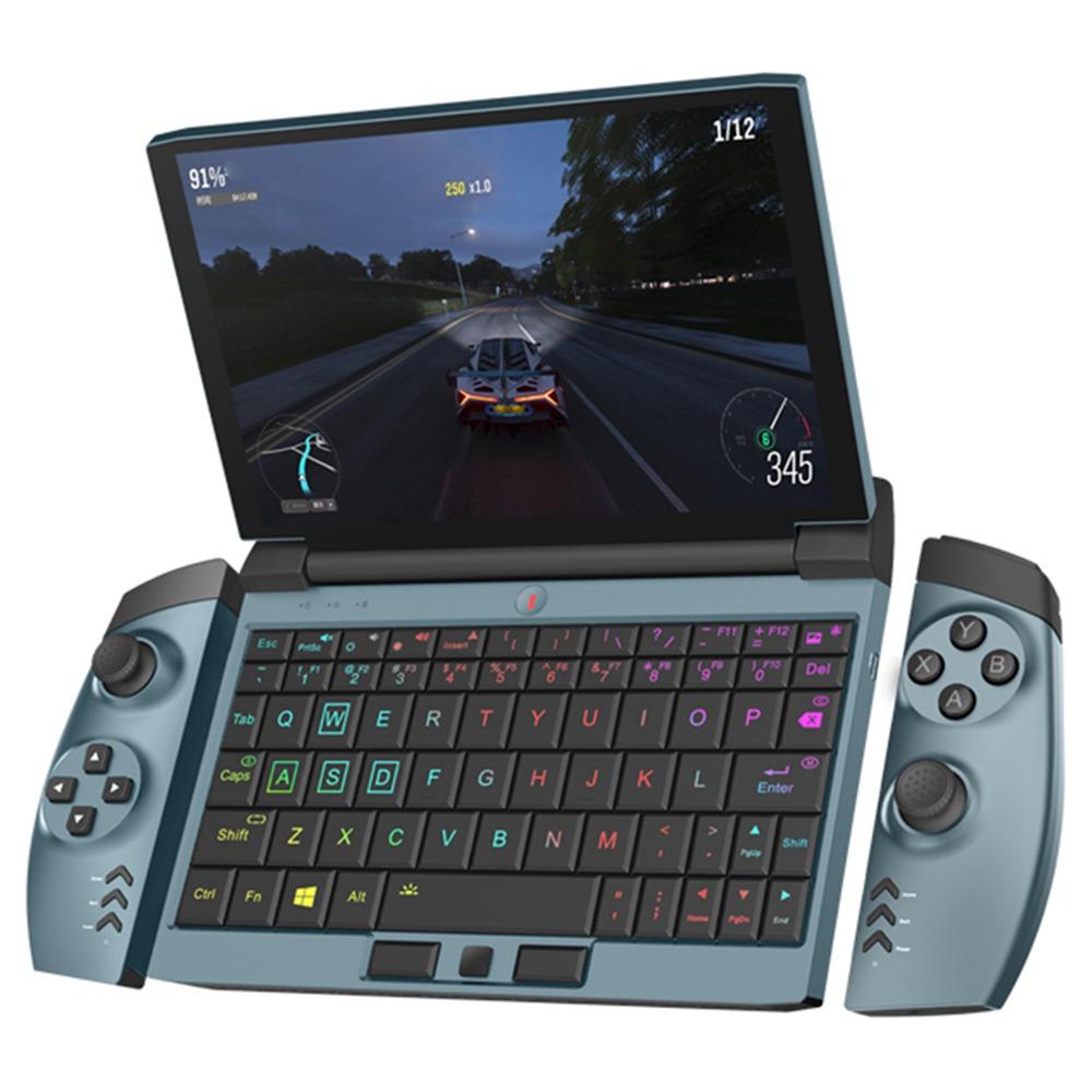 One Netbook OneGx1 Gaming Laptop 7-inch 1920x1200 i5-10210Y 16GB RAM 512GB SSD WiFi 6 Windows 10 4G Version - Blue