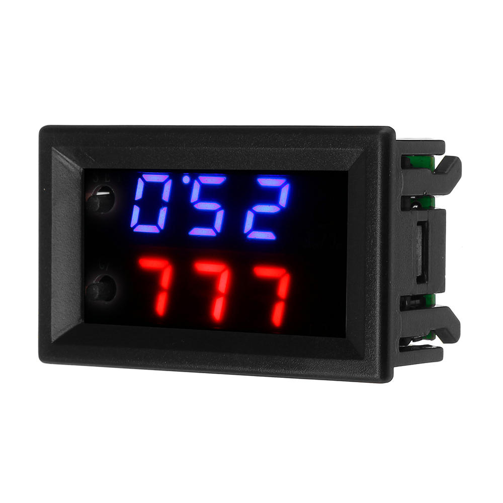ZFX-W2062 Microcomputer Digital Electronic Temperature Controller Fahrenheit Celsius Conversion Adjustable Digital Displ