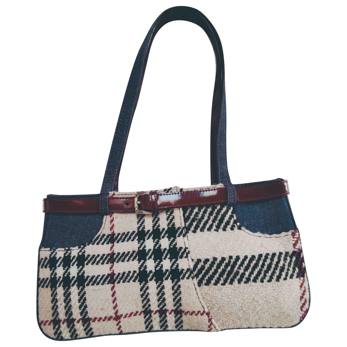 Burberry \N Beige Denim - Jeans handbag for Women \N