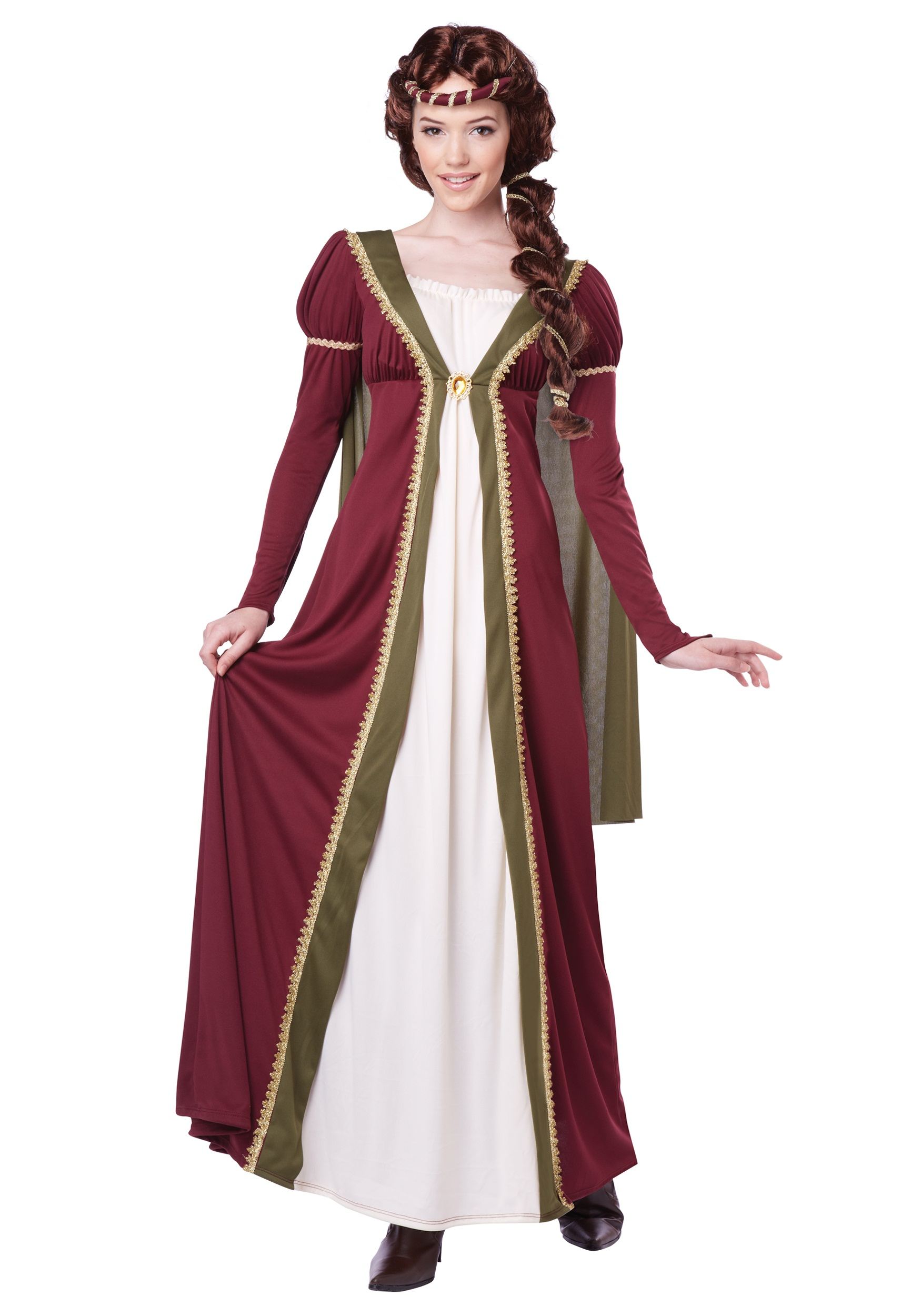 Medieval Maiden Womens Costume