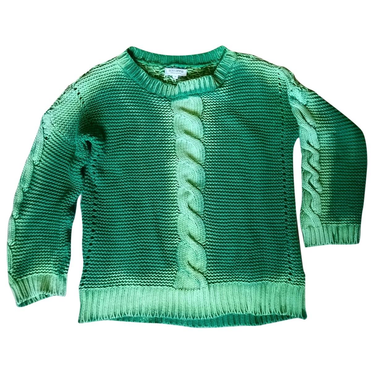 Roseanna \N Pullover in  Gruen Baumwolle
