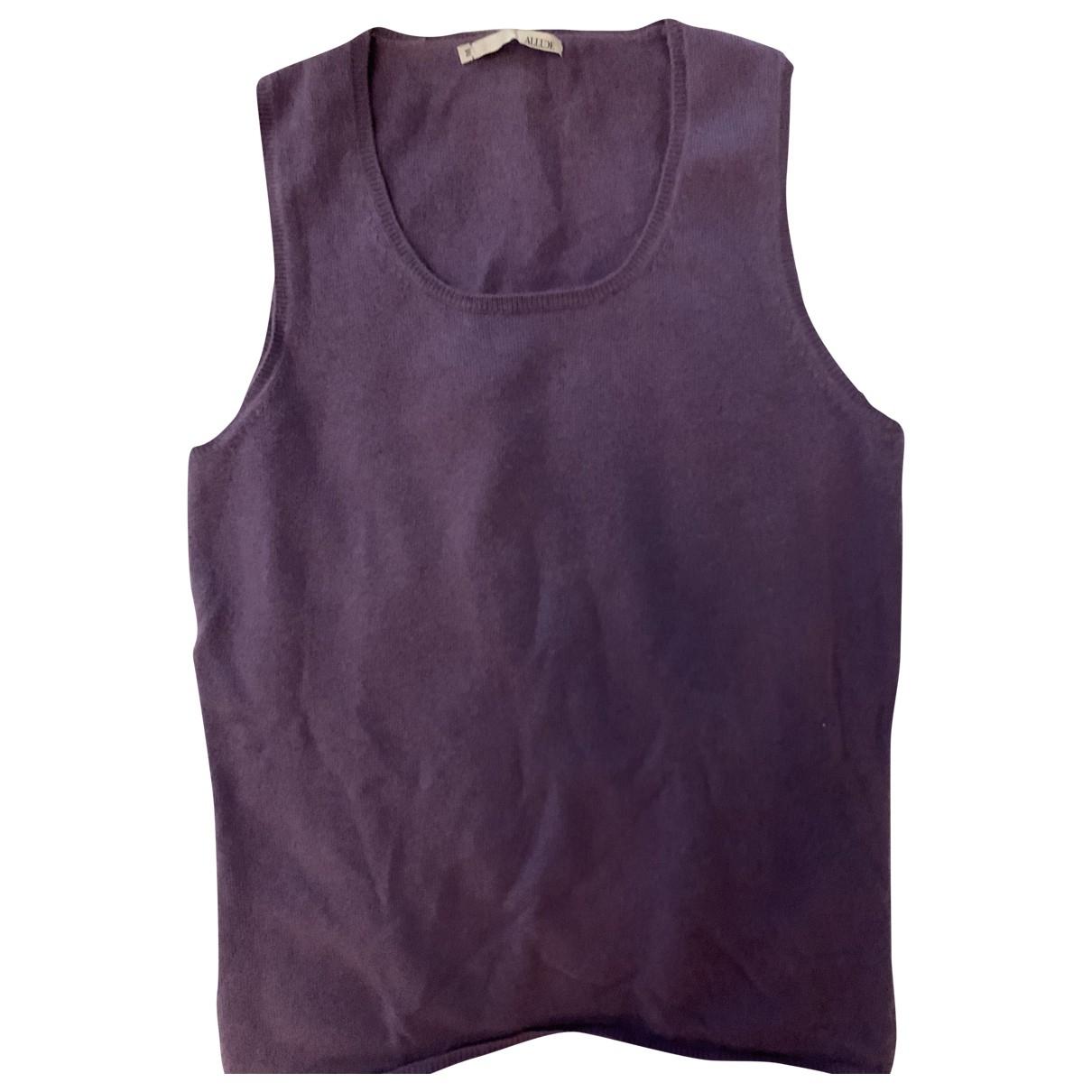 Allude \N Purple Cashmere Knitwear for Women M International
