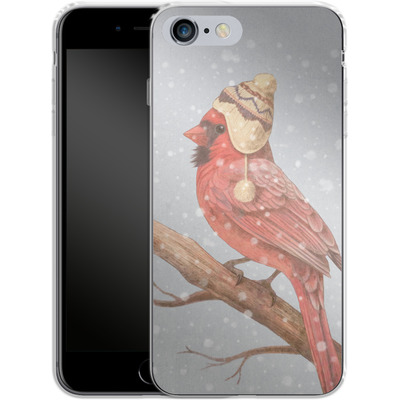 Apple iPhone 6s Plus Silikon Handyhuelle - First Snow von Terry Fan