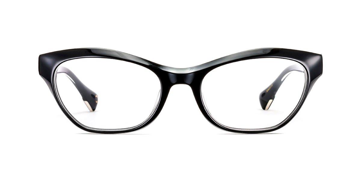 Etnia Barcelona LA CONDESA BK Women's Glasses Black Size 53 - Free Lenses - HSA/FSA Insurance - Blue Light Block Available