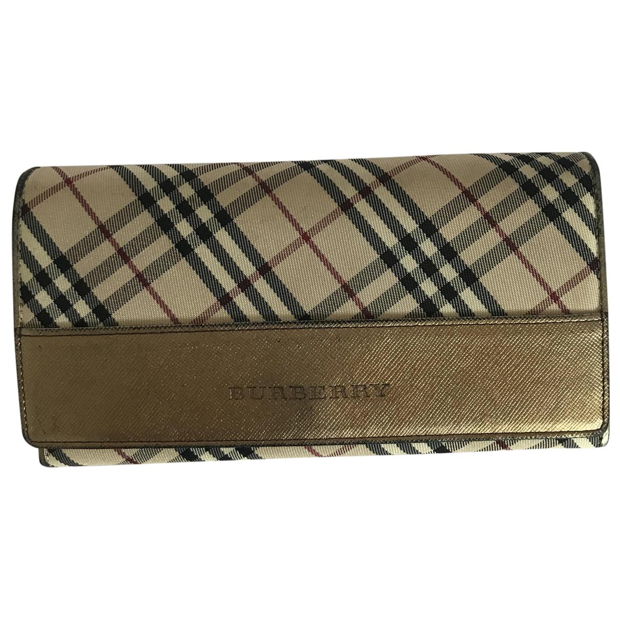 Burberry N Beige wallet for Women N