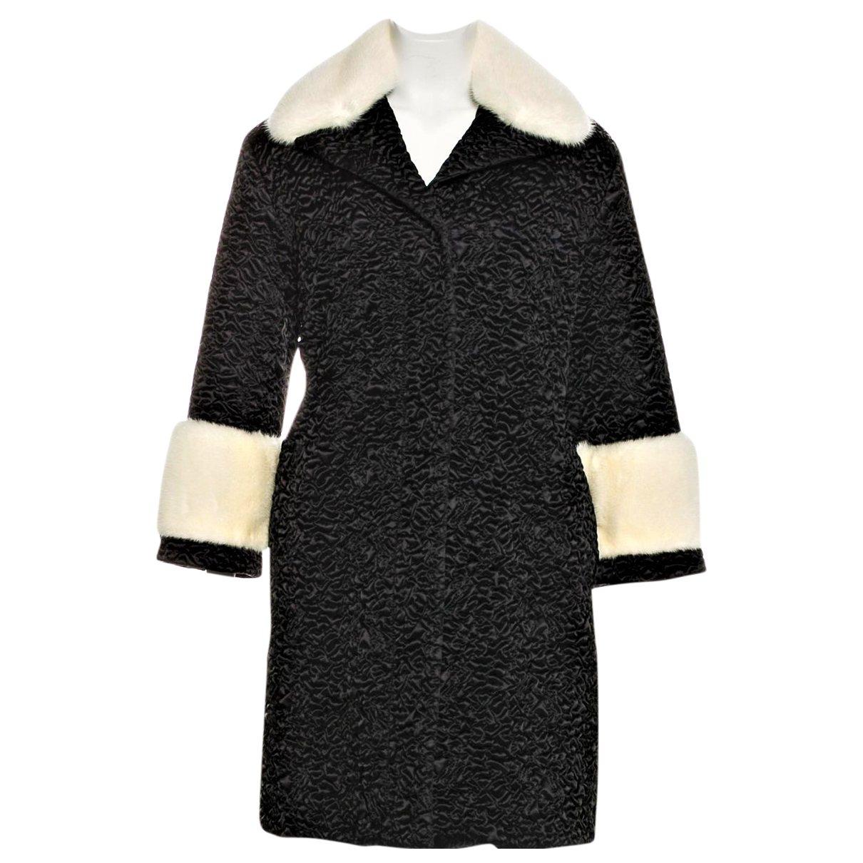 Gucci - Manteau   pour femme en vison - noir