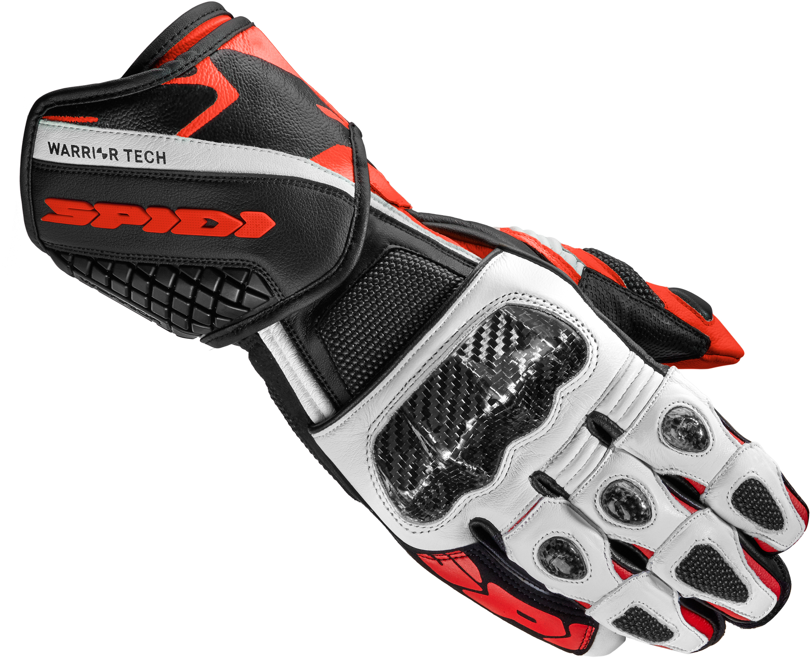 Spidi Carbo 5 Guantes Rojos XL