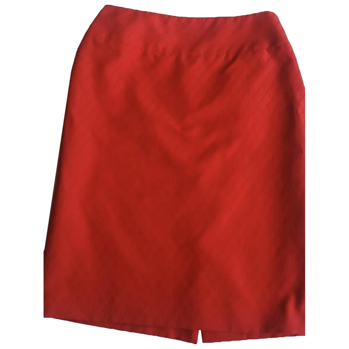 Valentino Garavani \N Rocke in  Rot Baumwolle