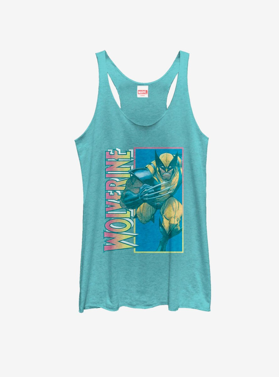 Marvel X-Men Wolverine Claw Womens Tank Top