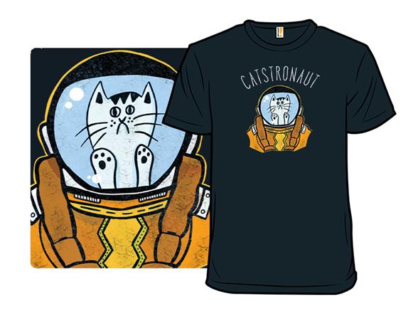 Catstronaut T Shirt