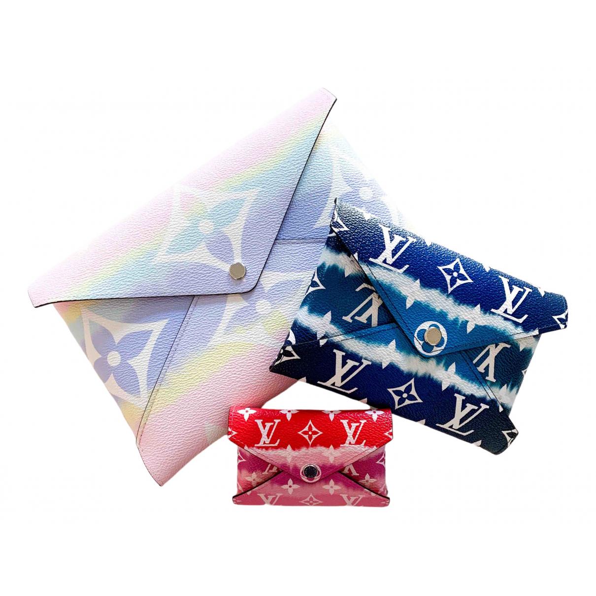 Louis Vuitton - Petite maroquinerie Kirigami pour femme en toile - multicolore