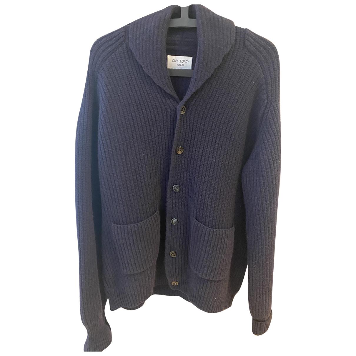 Our Legacy \N Pullover.Westen.Sweatshirts  in  Blau Wolle