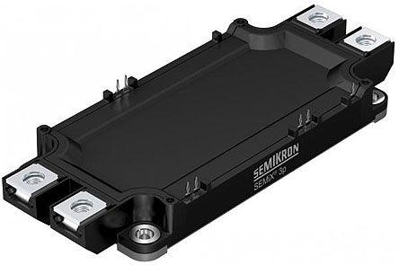 Semikron SEMiX303GB12E4p, SEMiX®3p , N-Channel Series IGBT Transistor Module, 469 A max, 1200 V, Through Hole