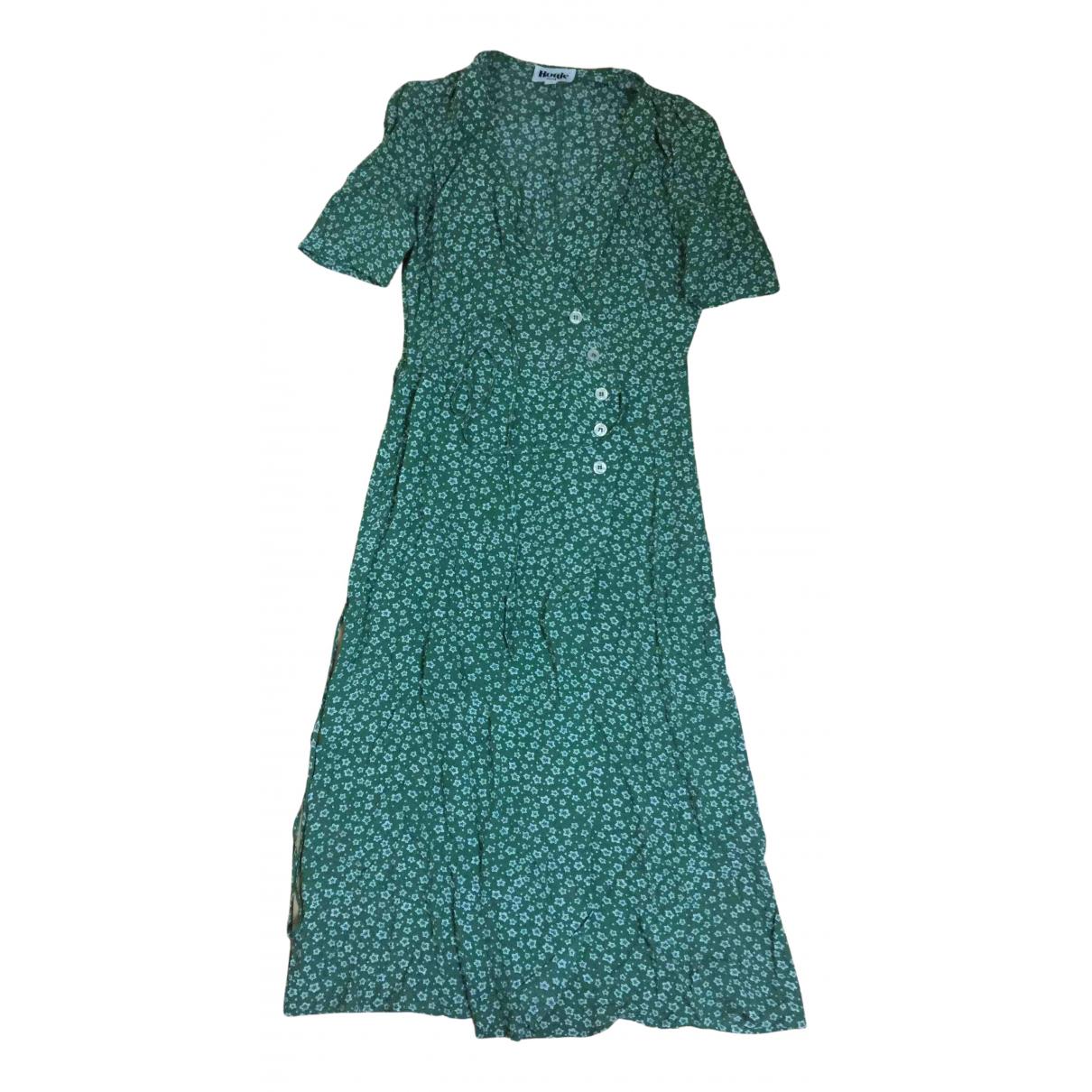 Rouje Gabin Green dress for Women 36 FR