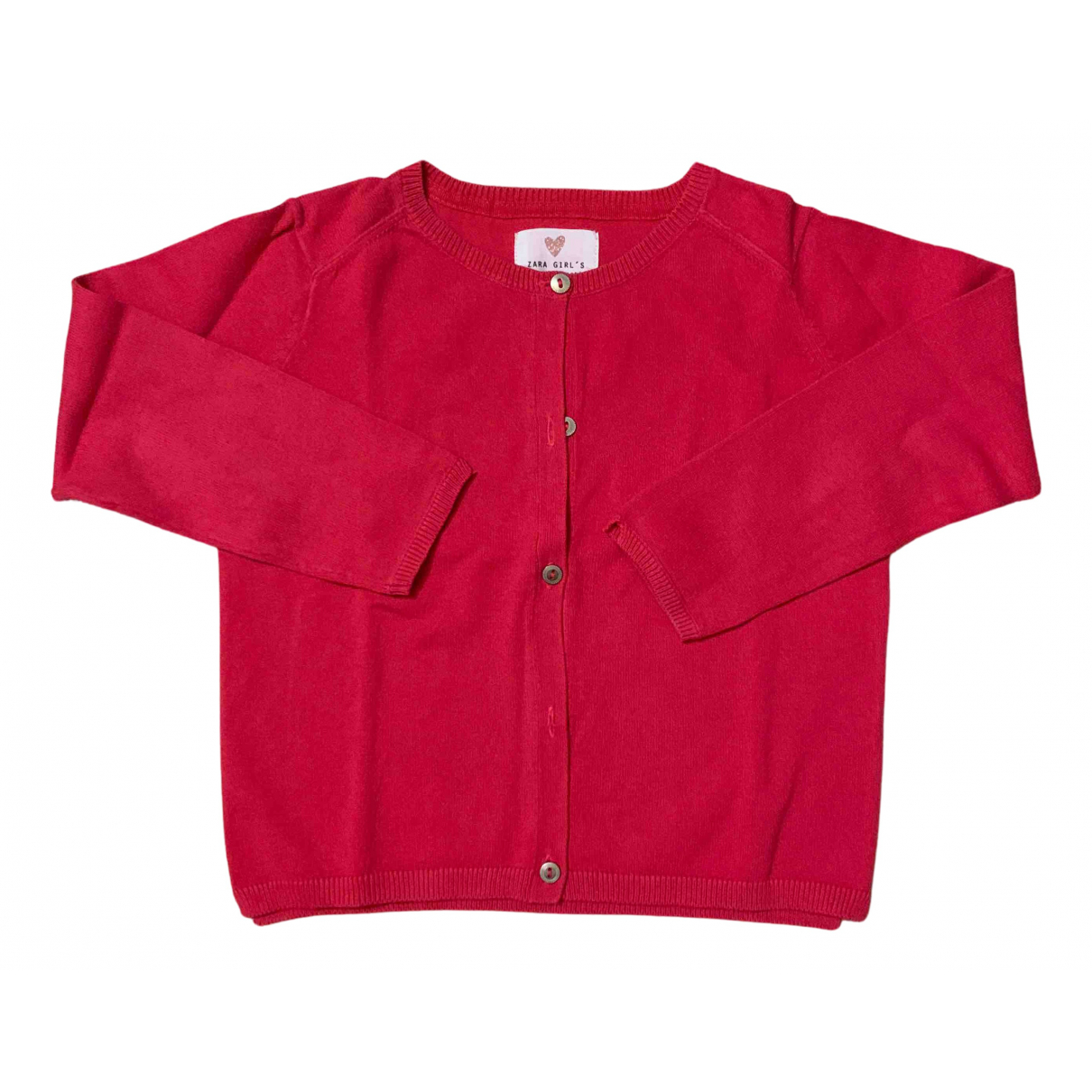 Zara N Red Cotton Knitwear for Kids 5 years - up to 108cm FR