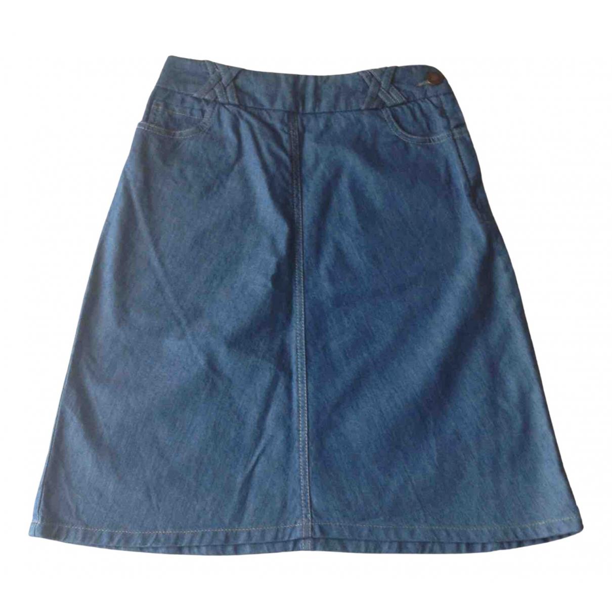 Sessun \N Blue Denim - Jeans skirt for Women 38 FR