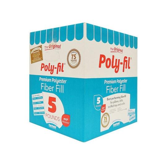 The Original Poly-Fil® Premium Polyester Fiber Fill Box, 5Lbs | Michaels®