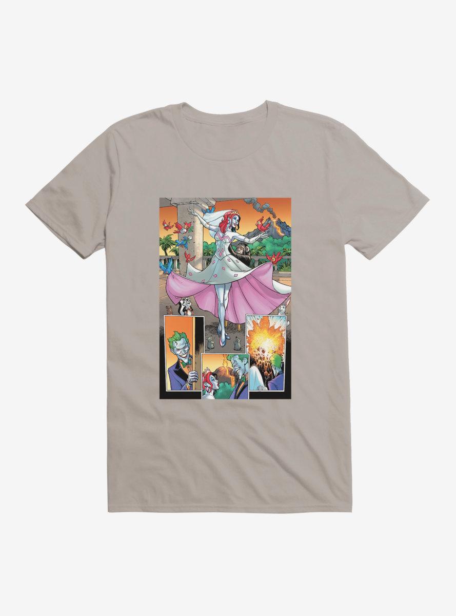 DC Comics Batman The Joker Comic Strips T-Shirt