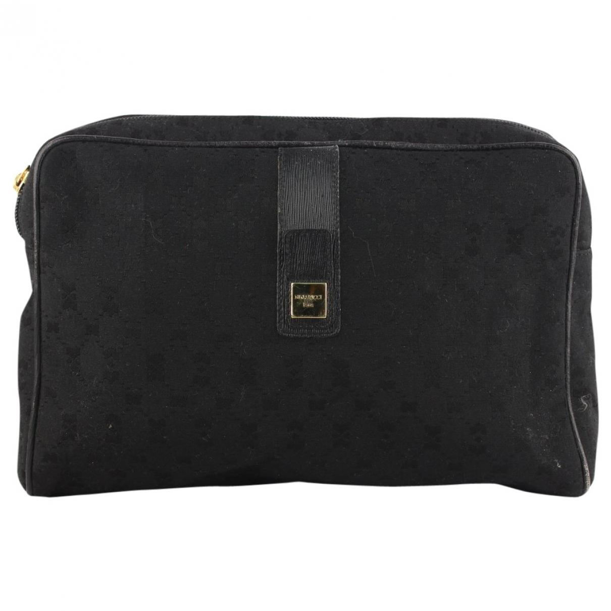Nina Ricci \N Black Cloth handbag for Women \N