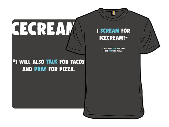 I Scream T Shirt