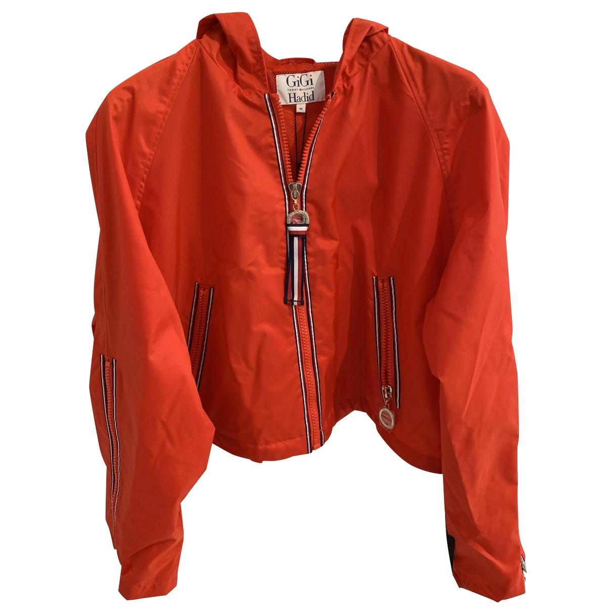 Gigi Hadid X Tommy Hilfiger \N Red jacket for Women M International