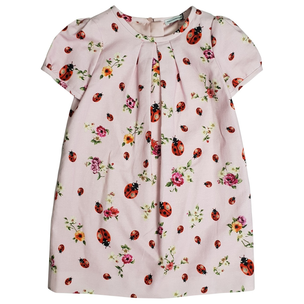 Dolce & Gabbana \N Pink Cotton dress for Kids 3 years - up to 98cm FR