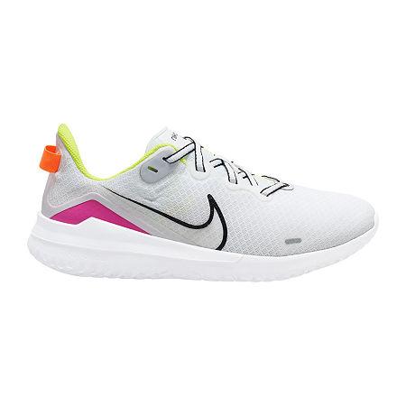 Nike Renew Ride Womens Running Shoes, 7 Medium, White