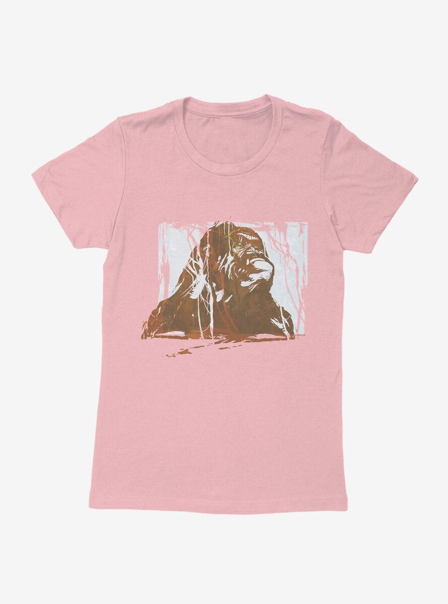 King Kong Grayscale Womens T-Shirt