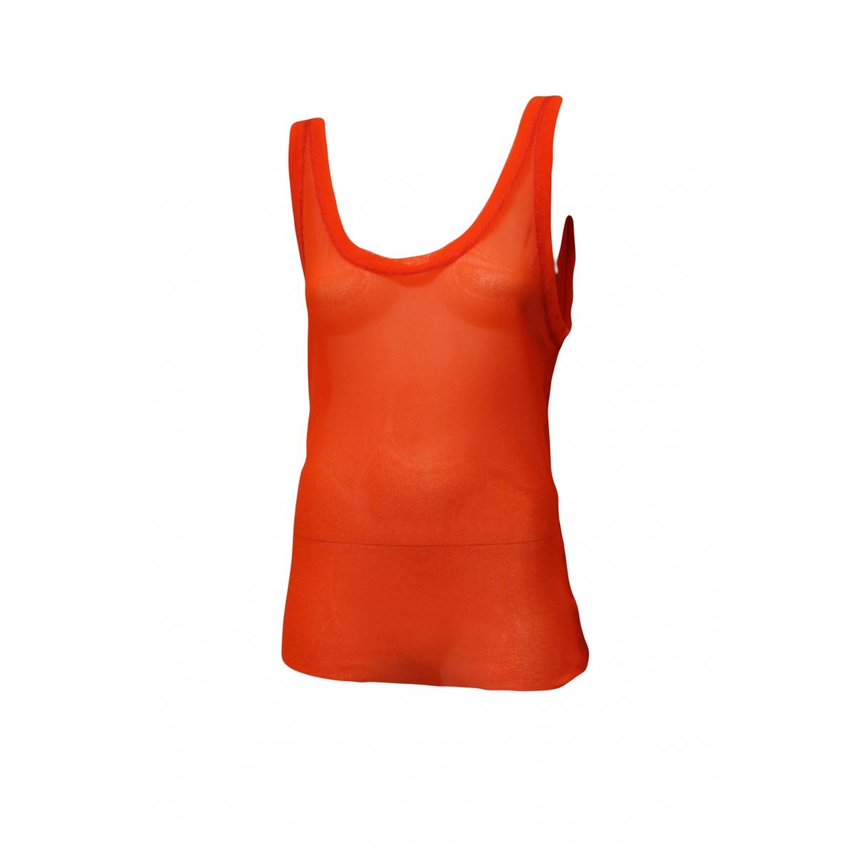 Jean Paul Gaultier - Top   pour femme - orange