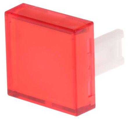 EAO Red Square Push Button Lens for use with 31 Series (3)
