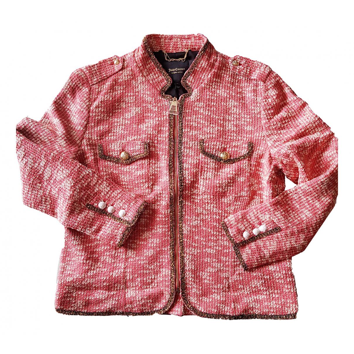 Juicy Couture - Veste   pour femme en coton - rose