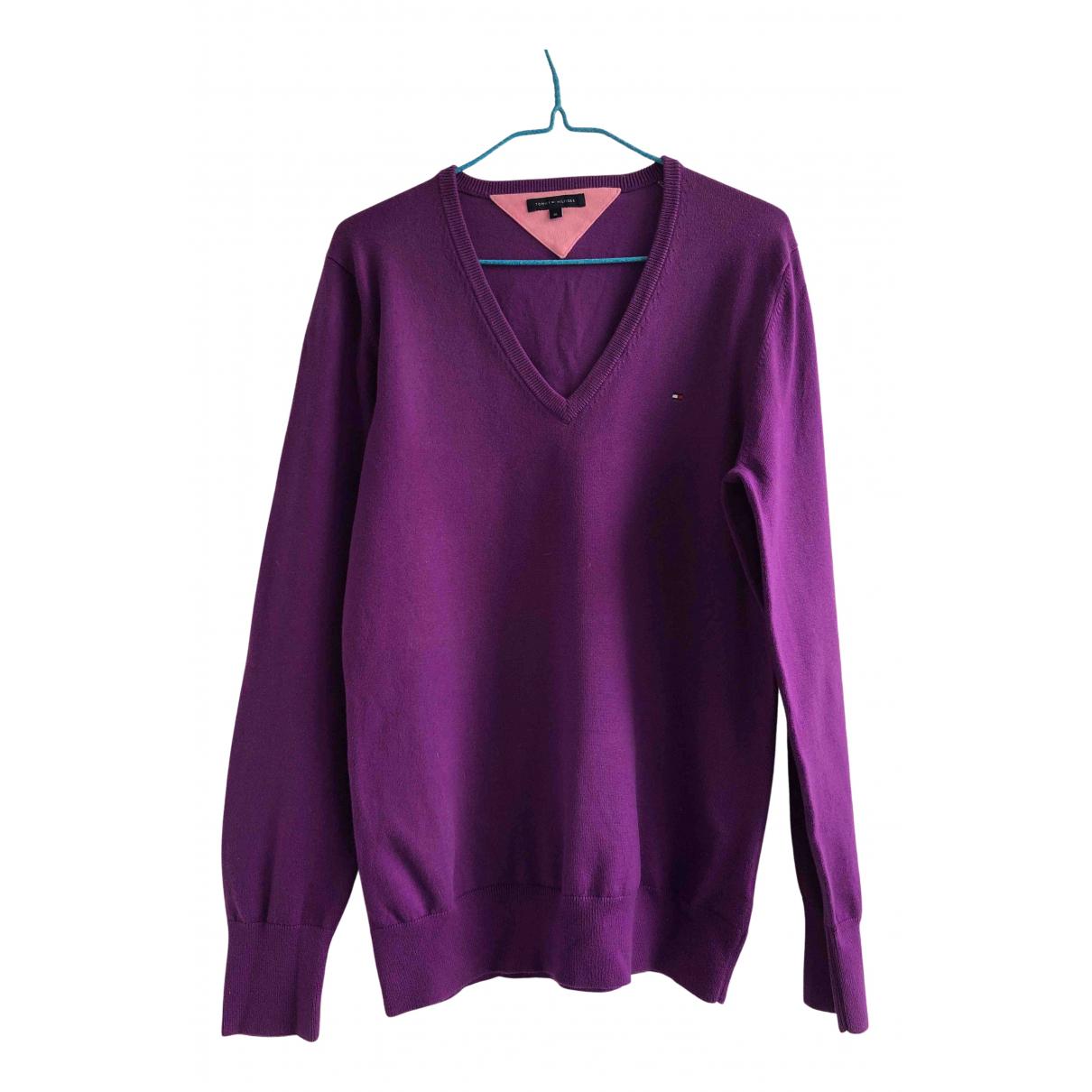 Tommy Hilfiger N Purple Cotton Knitwear for Women XL International