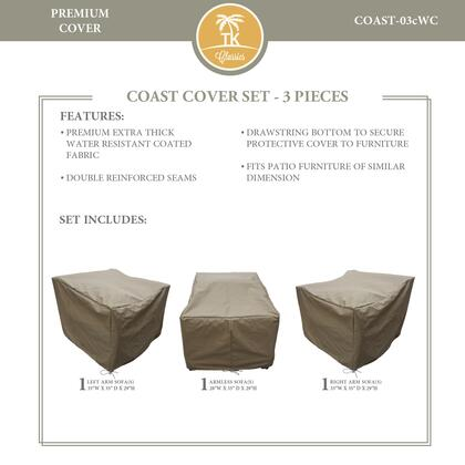 COAST-03cWC Protective Cover Set  for COAST-03c in