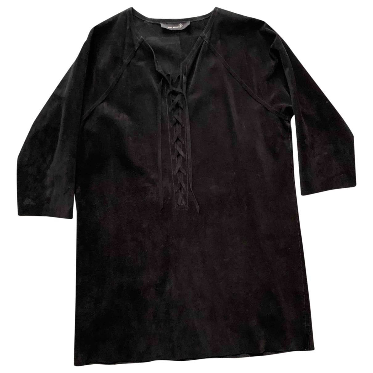 Isabel Marant \N Black Suede dress for Women 1 US