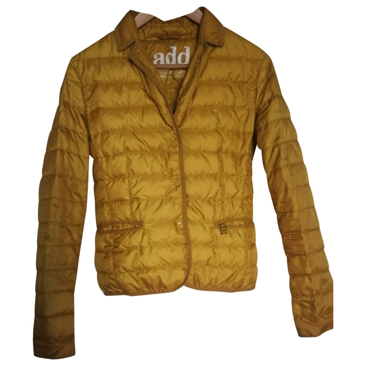 Add \N Yellow Trench coat for Women 42 IT