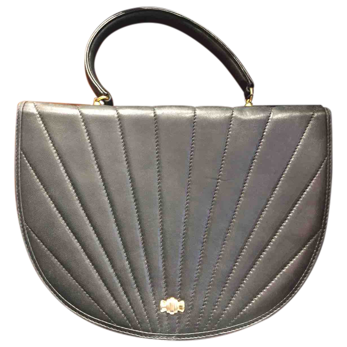 Tiffany & Co - Sac a main   pour femme en cuir - noir