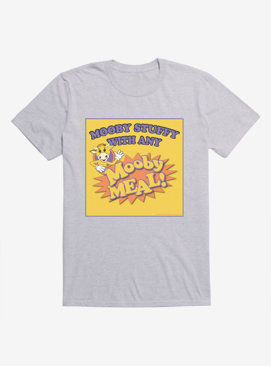 Jay And Silent Bob Reboot Mooby Stuffy With Any Mooby Meal T-Shirt