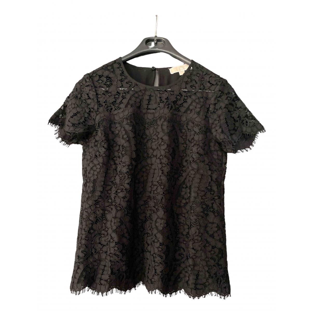 Michael Kors N Black Cotton  top for Women S International