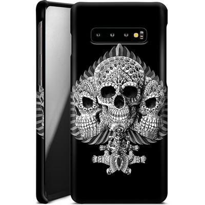 Samsung Galaxy S10 Plus Smartphone Huelle - Skull Spade von BIOWORKZ