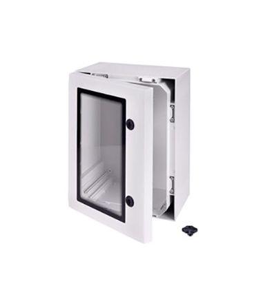 Fibox ARCA, Polycarbonate Wall Box, IP66, 150mm x 300 mm x 200 mm, Grey