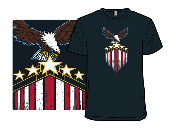 Stars, Stripes, Bird T Shirt